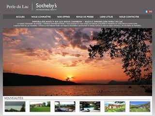 Thumbnail do site Portail Immobilier Annecy