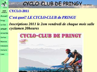 Thumbnail do site Cyclo Club de <b>Pringy</b>