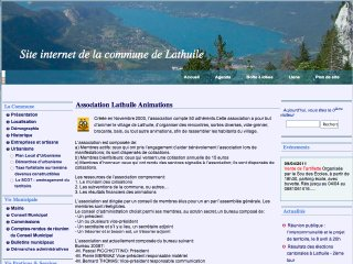 Thumbnail do site <b>Lathuile</b> Animations