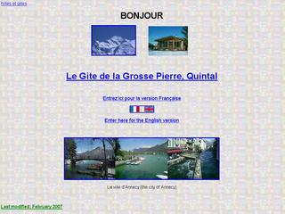 Thumbnail do site Le Gîte de la Grosse Pierre