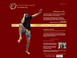 Thumbnail do site Annecy Thai Boxing - Club de Boxe Thailandaise