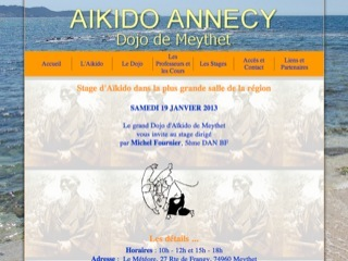 Thumbnail do site Aikido Annecy-Meythet