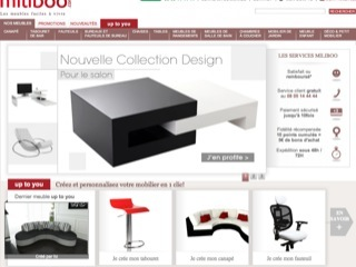 Thumbnail do site Miliboo - Meubles design