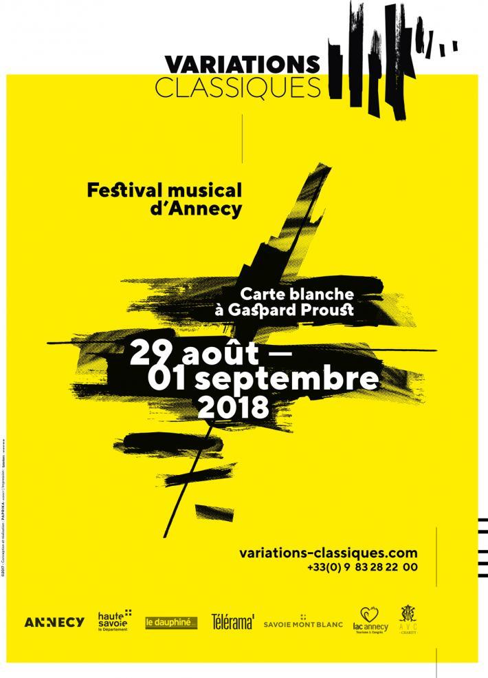 Théâtre de Bonlieu, Eglise Sainte Bernadette et Château d'Annecy, Du 29 Août au 1/9/2018