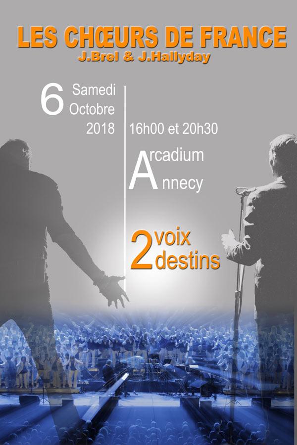 L'Arcadium - 32 Boulevard du Fier, 74000 Annecy, Samedi 6 octobre 2018
