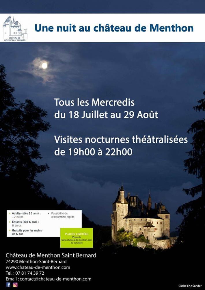 Château de Menthon-Saint-Bernard - Allée du Château, 74290 Menthon-Saint-Bernard, Mercredi 15 août 2018