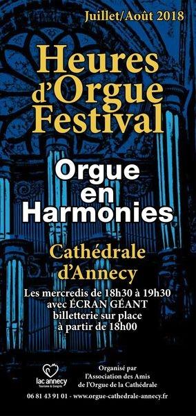 Cathédrale Saint-Pierre - 8 rue Jean-Jacques Rousseau - 74000 Annecy, Mercredi 15 août 2018