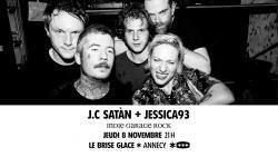 affiche J.C. Satàn + Jessica93