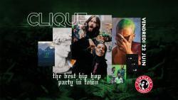 affiche Clique Hip-Hop Party