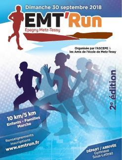 affiche EMT'Run 2018
