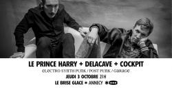 affiche Le Prince Harry + Delacave + Cockpit