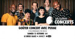 affiche Goûter-concert avec Pixvae