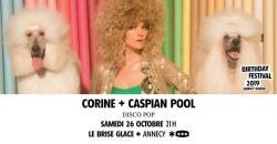 affiche Corine + Caspian