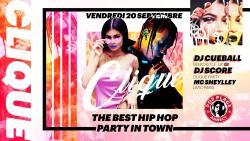 affiche Clique - Hip-Hop Party