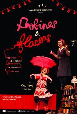 affiche 'Bobines et Flacons'