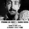 affiche Dario Rossi / Etienne de Crecy