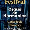 affiche Heures d'Orgue Festival 2018