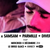 affiche Sky x SamSam + Parmille + Diversity