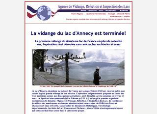 thumb La Vidange du Lac d'Annecy !