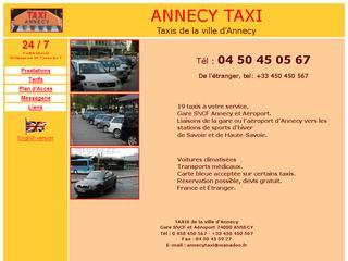 thumb Taxis de la ville d'Annecy