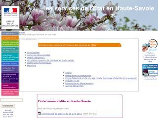 thumb Préfecture de la Haute-Savoie