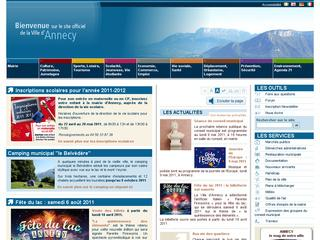 thumb Site officiel de la ville d'Annecy