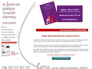 thumb CPMA - Centre de Pratique Musicale d'Annecy