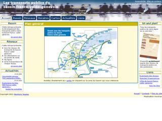 thumb Transports publics du bassin franco-valdo-genevois