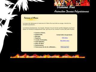 thumb Vahine Nui - Animation danseuses tahitiennes