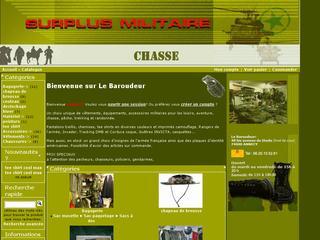 thumb le Baroudeur - surplus militaire
