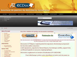 thumb A2eCDoc  74- Gestion du document numérique