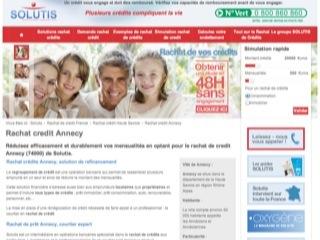 thumb Solutis - Rachat de crédit Annecy
